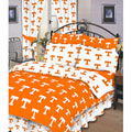 Tennessee Vols 100% Cotton Sateen Shower Curtain - Orange