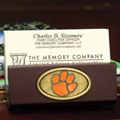 Clemson Tigers NCAA College Business Card Holder