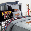 Pittsburgh Pirates Twin Size Sheets Set