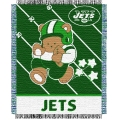 "New York Jets NFL Baby 36"" x 46"" Triple Woven Jacquard Throw"