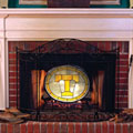 Tennessee Vols NCAA College Stained Glass Fireplace Screen