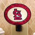 St. Louis Cardinals MLB Art Glass Nightlight