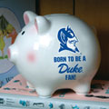 Duke Blue Devils NCAA College Ceramic Piggy Bank