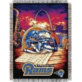 "St. Louis Rams NFL ""Home Field Advantage"" 48"" x 60"" Tapestry Throw"