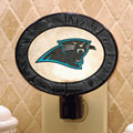 Carolina Panthers NFL Art Glass Nightlight