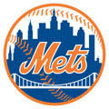 New York Mets Resized Logo Fathead MLB Wall Graphic