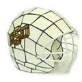 NCAA Oklahoma State University Cowboys Stained Glass Football Helmet Lamp