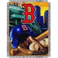 "Boston Red Sox MLB ""Home Field Advantage"" 48"" x 60"" Tapestry Throw"