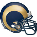 St. Louis Rams Helmet Fathead NFL Wall Graphic