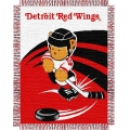 "Detroit Red Wings NHL Baby 36"" x 46"" Triple Woven Jacquard Throw"