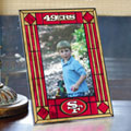 "San Francisco 49ers NFL 9"" x 6.5"" Vertical Art-Glass Frame"