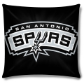 "San Antonio Spurs NBA 16"" Embroidered Plush Pillow with Applique"