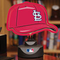 St. Louis Cardinals MLB Neon Baseball Cap Table Lamp