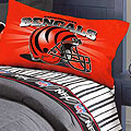 Cincinatti Bengals Full Size Pinstripe Sheet Set