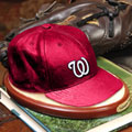 Washington Nationals MLB Baseball Cap Figurine