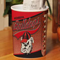 Georgia UGA Bulldogs NCAA College Office Waste Basket
