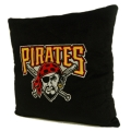"Pittsburgh Pirates MLB 16"" Embroidered Plush Pillow with Applique"