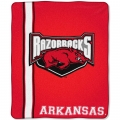 "Arkansas Razorbacks College ""Jersey"" 50"" x 60"" Raschel Throw"