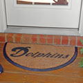 Miami Dolphins NFL Half Moon Outdoor Door Mat
