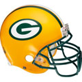 Green Bay Packers Helmet Fathead NFL Wall Graphic