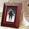 "Colorado Avalanche NHL 10"" x 8"" Brown Vertical Picture Frame"
