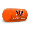 "Cincinnati Bengals NFL 14"" x 8"" Beaded Spandex Bolster Pillow"