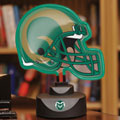 Colorado State Rams NCAA College Neon Helmet Table Lamp