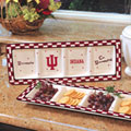 Indiana Hoosiers NCAA College Gameday Ceramic Relish Tray
