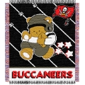 "Tampa Bay Buccaneers NFL Baby 36"" x 46"" Triple Woven Jacquard Throw"