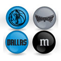 Dallas Mavericks Custom Printed NBA M&M's With Team Logo