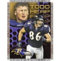 "Todd Heap NFL ""Players"" 48"" x 60"" Tapestry Throw"