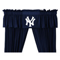 New York Yankees MLB Jersey Mesh Sidelines Window Valance