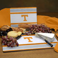 Tennessee Vols NCAA College Glass Cutting Board Set