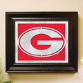 Georgia UGA Bulldogs NCAA College Laser Cut Framed Logo Wall Art