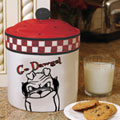 Georgia UGA Bulldogs NCAA College Gameday Ceramic Cookie Jar