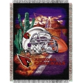 "Arizona Cardinals NFL ""Home Field Advantage"" 48"" x 60"" Tapestry Throw"