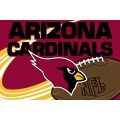 "Arizona Cardinals NFL 20"" x 30"" Tufted Rug"