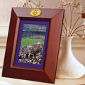 "Minnesota Vikings NFL 10"" x 8"" Brown Vertical Picture Frame"