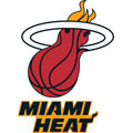 Miami Heat Logo Fathead NBA Wall Graphic