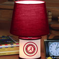 Alabama Crimson Tide NCAA College Accent Table Lamp