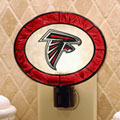 Atlanta Falcons NFL Art Glass Nightlight