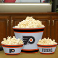 Philadelphia Flyers NHL Melamine 3 Bowl Serving Set