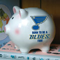 St. Louis Blues NHL Ceramic Piggy Bank