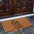 St. Louis Cardinals MLB Rectangular Outdoor Flocked Door Mat