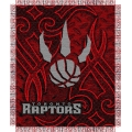"Toronto Raptors NBA 48"" x 60"" Triple Woven Jacquard Throw"