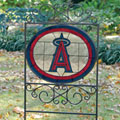 Los Angeles Anaheim Angels MLB Stained Glass Outdoor Yard Sign