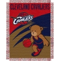 "Cleveland Cavaliers NBA Baby 36"" x 46"" Triple Woven Jacquard Throw"