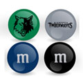 Minnesota Timberwolves Custom Printed NBA M&M's With Team Logo