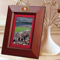 "San Francisco 49ers NFL 10"" x 8"" Brown Vertical Picture Frame"