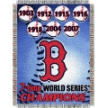 "Boston Red Sox MLB ""Commemorative"" 48"" x 60"" Tapestry Throw"